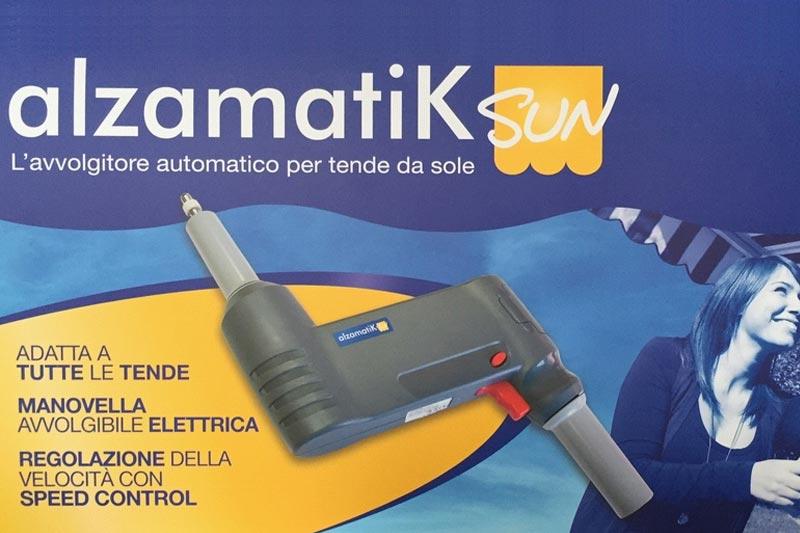 Manovella Elettrica Per Tende Da Sole.Alzamatik Sun Avvolgitore Automatico Per Tende Da Sole